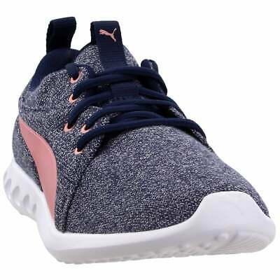 Puma Carson 2 Knit Sneakers Casual    - Navy - Womens