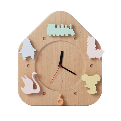 Grow in Nature Child's Wooden Wall Clock - Brand New in box.