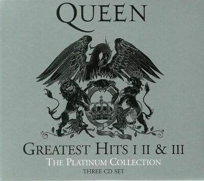 QUEEN - Greatest Hits I II & III: The Platinum Collection - CD (3xCD)