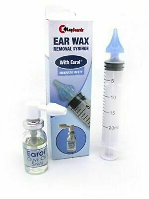Lugguards Aculife Ear Wax Removal Syringe With Earol Damaged Box UK Free P&P