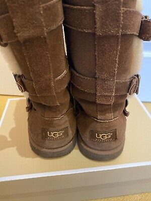 Girls Brown Uggs Boots Size Size Uk3