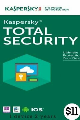 KASPERSKY TOTAL Security 2020 / 1 Device / 2 Year / GLOBAL-KEY