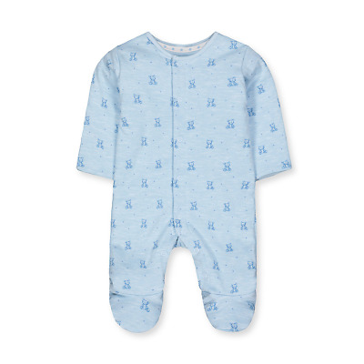 Mothercare Baby Boy Cotton Wadded Sleeper Sleepsuit Pramsuit 3-6 months 2.5 TOG