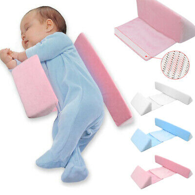 Newborn Baby Side Sleeping Pillow Side Anti-Flat Head Anti-Spitting Milk Pillow