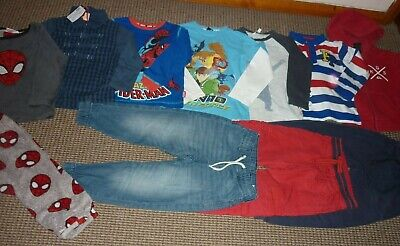 Bundle Boys Clothes age 4-5yrs Quiksilver Fat Face Next Jeans Tops Hoodie Jogger