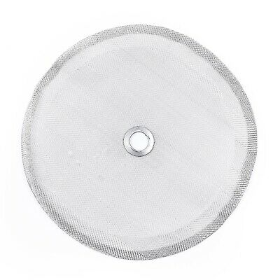 """4"""" In Stainless Steel Filter Mesh For French Press Cafetiere Coffee Maker New"""