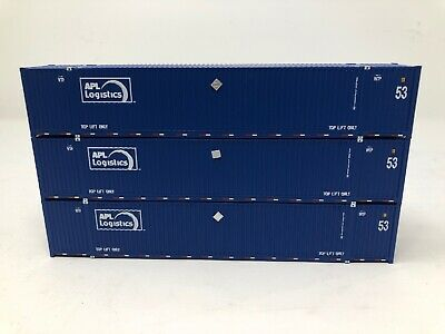 Brand New Athearn 3 Pack APL 53/' Stoughton Containers #2