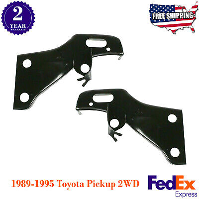 FOR TOYOTA 89-91 PICKUP 4WD 90-91 4RUNNER FRONT BUMPER MOUNTING ARM BRACKET SET