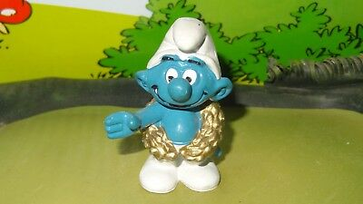 Lab Smurf with Test Tubes BASF Promo Figurine RARE Smurf Figure with Green Tag