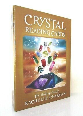 New Boxed Set - Crystal Reading Cards - The Healing Oracle - Rachelle Charman