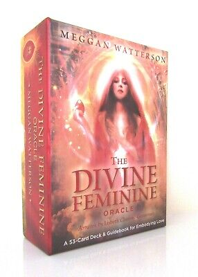 New Boxed Set - The Divine Feminine Oracle - Meggan Watterson 53 Cards & Book