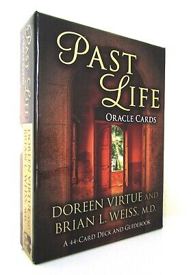 New Boxed Card Book Set - Past Life Oracle Cards - Doreen Virtue Brian L. Weiss