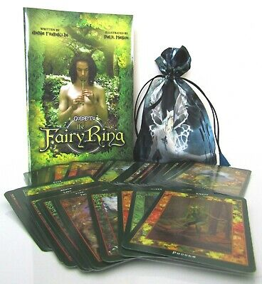 The Fairy Ring - An Oracle of the Fairy Folk Cards, Book & Bag - Anna Franklin