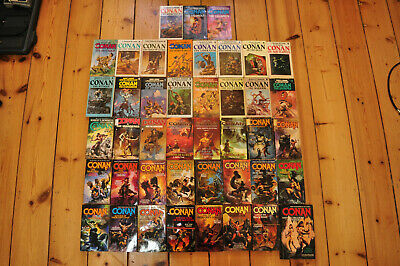 Conan the Barbarian - Novel Lot - 43 Books - TOR Lancer ACE - Robert E Howard