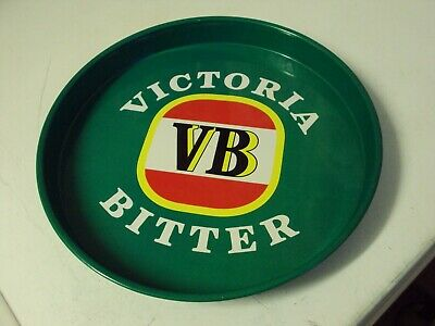 Vb Victoria Bitter Tray Licenced Product Tin Drink Collectable Bar Mancave