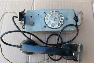 Vintage Russian USSR Real Soviet Army Military PHONE