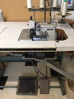 Brother Industrial Overlocker Sewing Machine 5-Thread Pedal Lift
