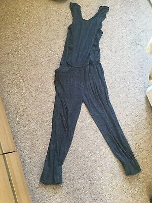 Next Girls Jumpsuit Grey Age 12 Years