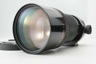【N.MINT】 Canon New FD 300mm F4 L MF Telephoto Lens from Japan #895
