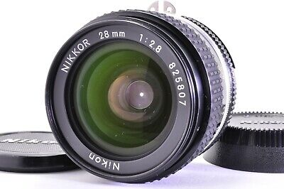 (Excellent +++++)NIKON Ai-s  NIKKOR 28mm f/2.8 MF SLR Lens  From JAPAN A263