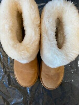 Designer Girls Light Brown Uggs Boots Size Size Uk5.5 EXCELLENT CONDITION