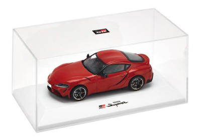 2019 1:43 Toyota Gazoo Racing GR Supra road car Prominence Red  1/43 scale model