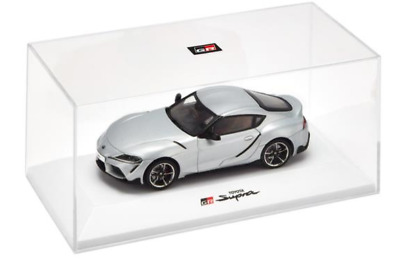 2019 1:43 Toyota Gazoo Racing GR Supra road car silver metallic 1/43 scale model