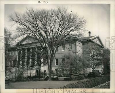 1949 Press Photo The State House in Annapolis, Maryland after being restored
