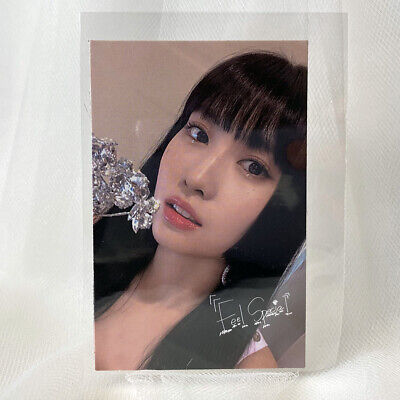 TWICE MOMO Official Photocard 8th Mini album FEEL SPECIAL Photo Card D Kpop