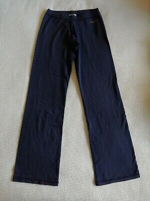 Girls REEBOK blue sports trousers size 8 good condition