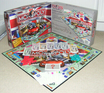 Monopoly Here & Now UK Edition Parker Family Board Game 2-6 Players
