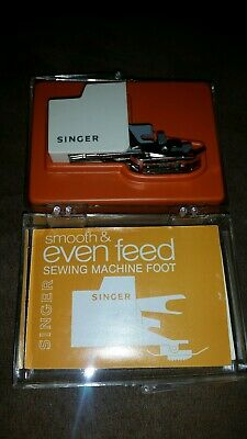 Vtg 1970's Singer Smooth Even Feed Sewing Machine Foot C-470