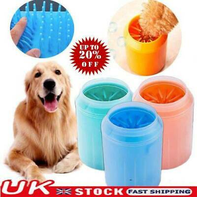 Portable Dog Paw Cleaner Pets Cleaning Brush Cup Dogs Foot Cleaner Feet Washers