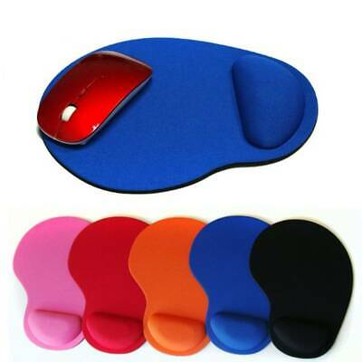 Anti-Slip Mouse Pad Mouse Mat With Gel Wrist Rest Support For Macbook Laptop