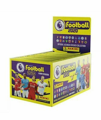 Panini Premier League 2020 Stickers Complete Box 2019/2020 100 Packs Album Inc