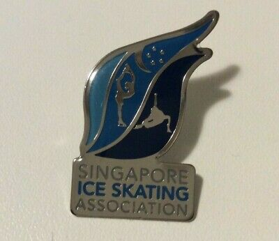 Lausanne 2020 Youth Olympics SINGAPORE ICE SKATING association pin