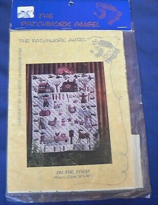 The Patchwork Angel 'On the Farm' Patchwork Quilt Pattern 0159 [AUS]