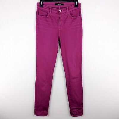 J. Brand Maria Off-Red Skinny Jeans Women's Size 26