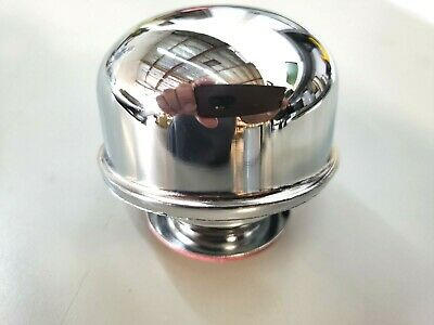 PROFORM 302-200 Chrome Twist-On Valve Cover Air Breather Cap w//Ford RACING Emb
