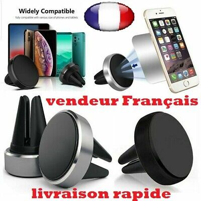 Support Universel Aimant Magnetique Voiture Smartphone Telephone Apple Samsung