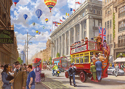 GIbson Jigsaw Puzzle 1000 Piece - Then & Now Oxford Street London New and Sealed
