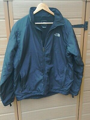 The North Face black zipped coat mens Large