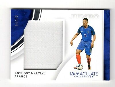 Anthony Martial 2017 Immaculate Collection Jumbo Memorabilia /49 (France.man Utd