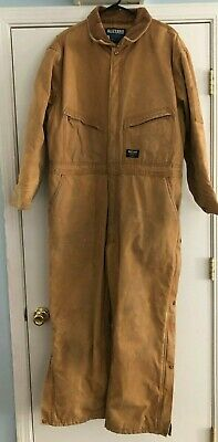 Walls Blizzard Pruf Mens Insulated Coveralls Size X-Large Short Good Condition