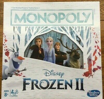 Monopoly - Disney Frozen II Edition Board Game New and Sealed