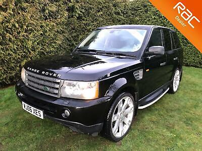 LAND ROVER RANGE ROVER SPORT TDV6 190 Command-Shift Auto HSE with FSH 2006