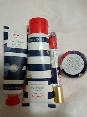 Lot of Joules Hand Cream Lip Balm Perfume Vanilla Orange Blossom NEW