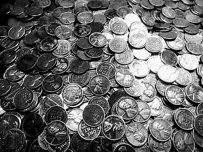 """The year 1926 WHEATBACK COINS-----1 roll of U.S. PENNIES 1926 """"P"""""""