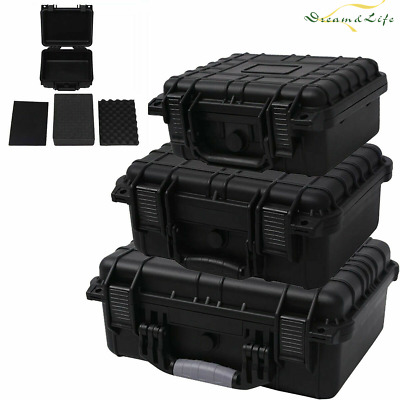Protective Equipment Hard Carry Case Plastic Box Travel Protector Removable Foam