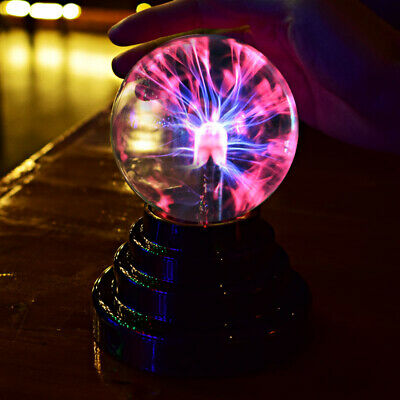 Magic Plasma Ball Sphere Nebula Lightning Lamp Desktop Light Party Crystal Globe